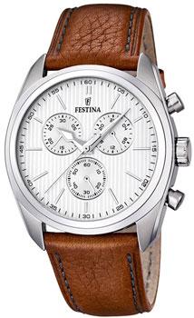 fashion наручные  мужские часы Festina 16779.1. Коллекция Chronograph