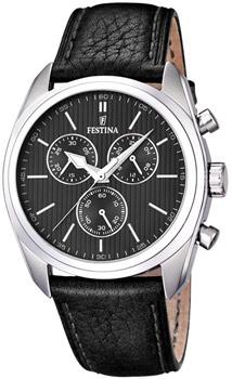 fashion наручные  мужские часы Festina 16779.4. Коллекция Crono Acero Sin Alarma