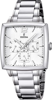 fashion наручные  мужские часы Festina 16783.1. Коллекция Chronograph