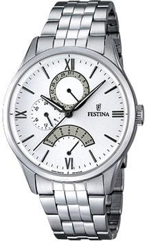 fashion наручные  мужские часы Festina 16822.1. Коллекция Retrograde