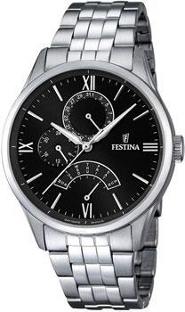 fashion наручные  мужские часы Festina 16822.4. Коллекция Retrograde