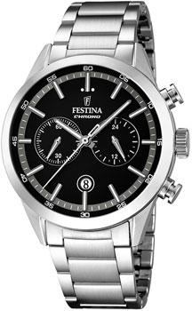 fashion наручные  мужские часы Festina 16826.3. Коллекция Chronograph
