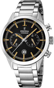 fashion наручные  мужские часы Festina 16826.4. Коллекция Chronograph