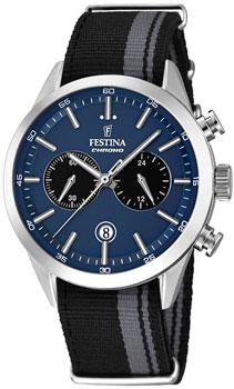 fashion наручные  мужские часы Festina 16827.2. Коллекция Chronograph