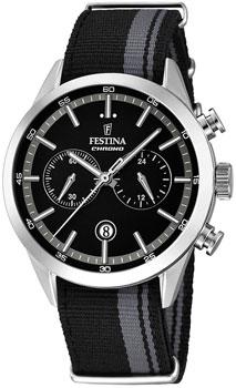 fashion наручные  мужские часы Festina 16827.3. Коллекция Chronograph