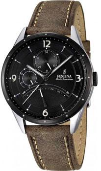 fashion наручные  мужские часы Festina 16848.1. Коллекция Retrograde