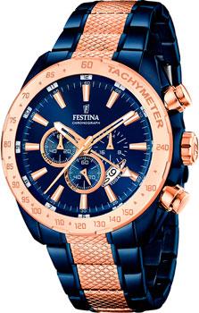 fashion наручные  мужские часы Festina 16886.1. Коллекция Chronograph