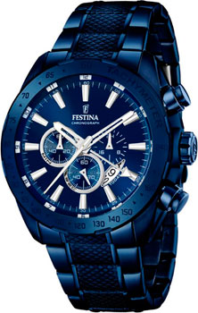 fashion наручные  мужские часы Festina 16887.1. Коллекция Chronograph