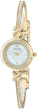 fashion наручные  женские часы Anne Klein 1688MPGB. Коллекция Crystal