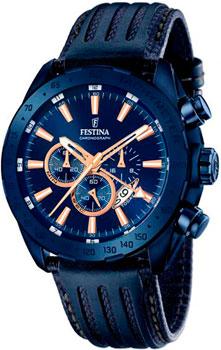 fashion наручные  мужские часы Festina 16898.1. Коллекция Chronograph
