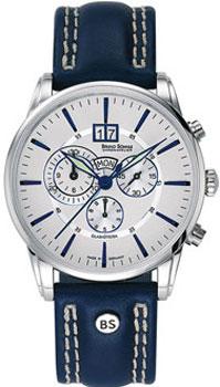 Наручные  мужские часы Bruno Sohnle 17-13054-243. Коллекция Atrium