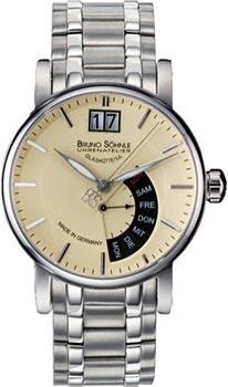 Наручные  мужские часы Bruno Sohnle 17-13073-142MB. Коллекция Pesaro