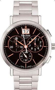 Наручные  мужские часы Bruno Sohnle 17-13112-746MB. Коллекция Lagograph