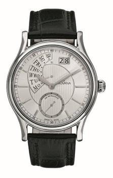 Швейцарские наручные  мужские часы Grovana 1718.1532. Коллекция Mechanical
