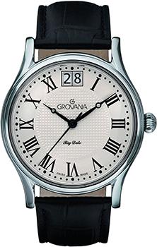 Швейцарские наручные  мужские часы Grovana 1727.1532. Коллекция Traditional
