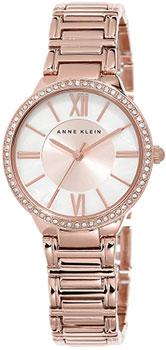 fashion наручные  женские часы Anne Klein 1794MPRG. Коллекция Crystal
