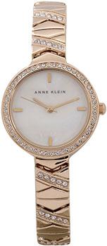 fashion наручные  женские часы Anne Klein 1798MPGB. Коллекция Crystal