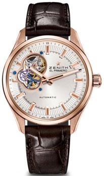 Швейцарские наручные  мужские часы Zenith 18.2170.4613_01.C713