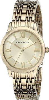 fashion наручные  женские часы Anne Klein 1804CHGB. Коллекция Daily