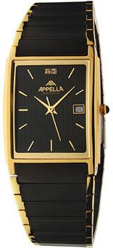 Швейцарские наручные  мужские часы Appella 181-9004. Коллекция Classic