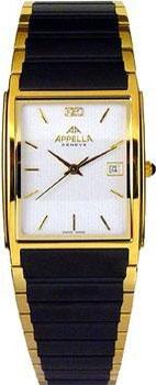 Швейцарские наручные  мужские часы Appella 181.09.0.0.01. Коллекция Classic