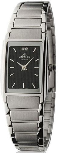 Женские наручные швейцарские часы в коллекции Square Line Appella
