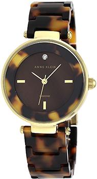 fashion наручные  женские часы Anne Klein 1838BMTO. Коллекция Diamond
