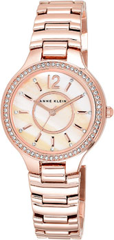 fashion наручные  женские часы Anne Klein 1854RMRG. Коллекция Crystal