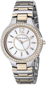 fashion наручные  женские часы Anne Klein 1855MPTT. Коллекция Crystal