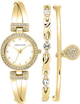 fashion наручные  женские часы Anne Klein 1868GBST. Коллекция Fashion time