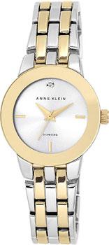 fashion наручные  женские часы Anne Klein 1931SVTT. Коллекция Diamond