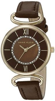 fashion наручные  женские часы Anne Klein 1932BMBN. Коллекция Crystal