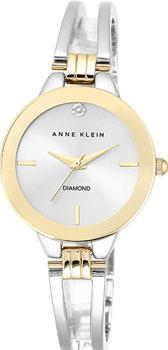 fashion наручные  женские часы Anne Klein 1943SVTT. Коллекция Diamond