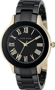 fashion наручные  женские часы Anne Klein 1948BKGB. Коллекция Ceramics