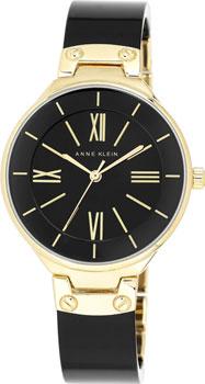 fashion наручные  женские часы Anne Klein 1958BKGB. Коллекция Plastic