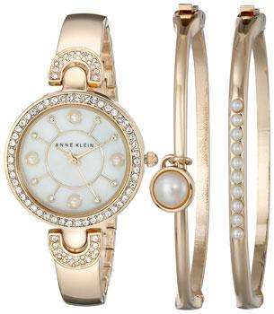 fashion наручные  женские часы Anne Klein 1960GBST. Коллекция Fashion time