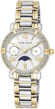 fashion наручные  женские часы Anne Klein 1965SVTT. Коллекция Crystal