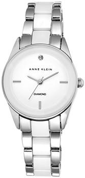 fashion наручные  женские часы Anne Klein 1975WTSV. Коллекция Diamond