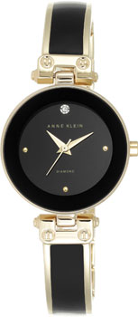 fashion наручные  женские часы Anne Klein 1980BKGB. Коллекция Diamond