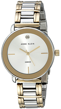 fashion наручные  женские часы Anne Klein 1991SVTT. Коллекция Diamond