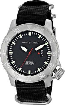 fashion наручные  мужские часы Momentum 1M-DV74BS7B. Коллекция TORPEDO