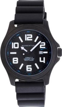 fashion наручные  мужские часы Momentum 1M-SP06BS8. Коллекция COBALT V