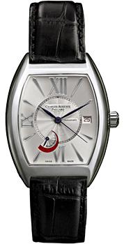 Швейцарские наручные  мужские часы Charles Auguste Paillard 200.104.11.15S. Коллекция Curved Tonneau Classic