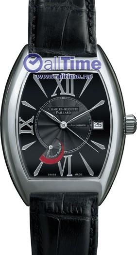 Мужские наручные швейцарские часы в коллекции Curved Tonneau Classic Charles-Auguste Paillard