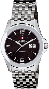 Швейцарские наручные  мужские часы Swiss military 20000ST-1M. Коллекция Oscar