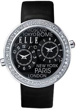 fashion наручные  женские часы Elle 20038S12N. Коллекция Leather