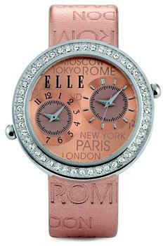 fashion наручные  женские часы Elle 20038S19N. Коллекция Leather