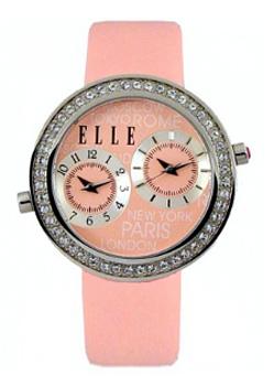 fashion наручные  женские часы Elle 20038S22N. Коллекция Leather