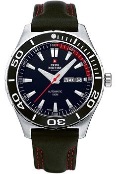Швейцарские наручные  мужские часы Swiss military 20090ST-1L. Коллекция Механические часы
