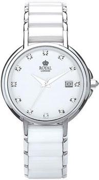 fashion наручные  женские часы Royal London 20153-01. Коллекция Fashion